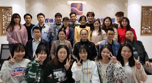 南宁学院沈副院长到我司看望实习学生2021.3.22
