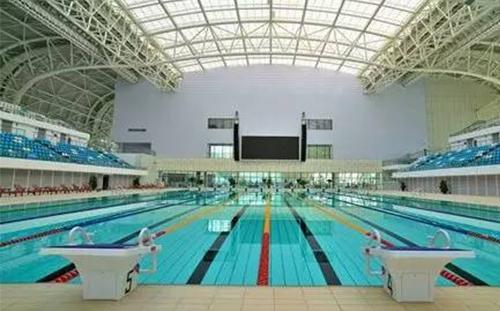 广西体育中心二期跳水游泳馆工程