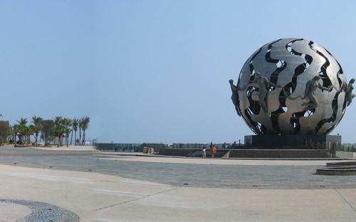 北海银滩市民广场